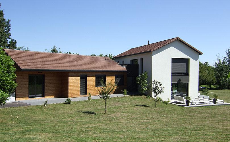 Maison individuelle contemporaine Béligneux