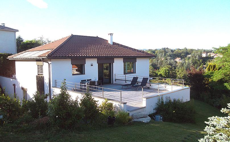 Maison individuelle contemporaine Charbonnières-les-bains