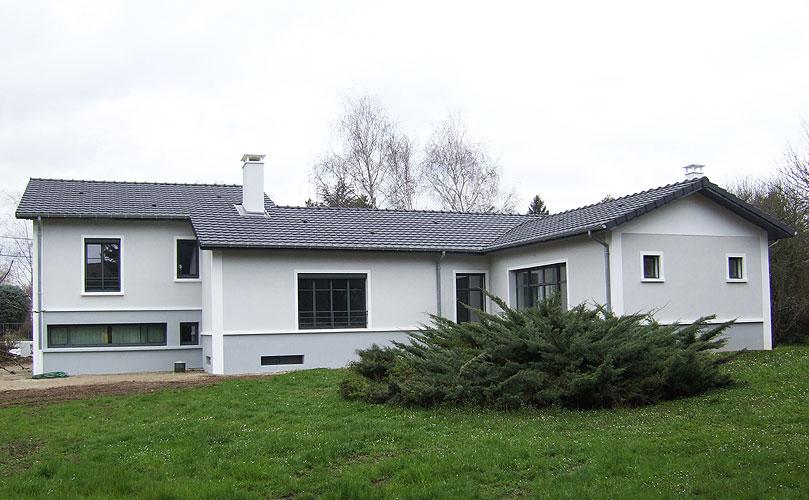 Maison individuelle contemporaine Les Chères