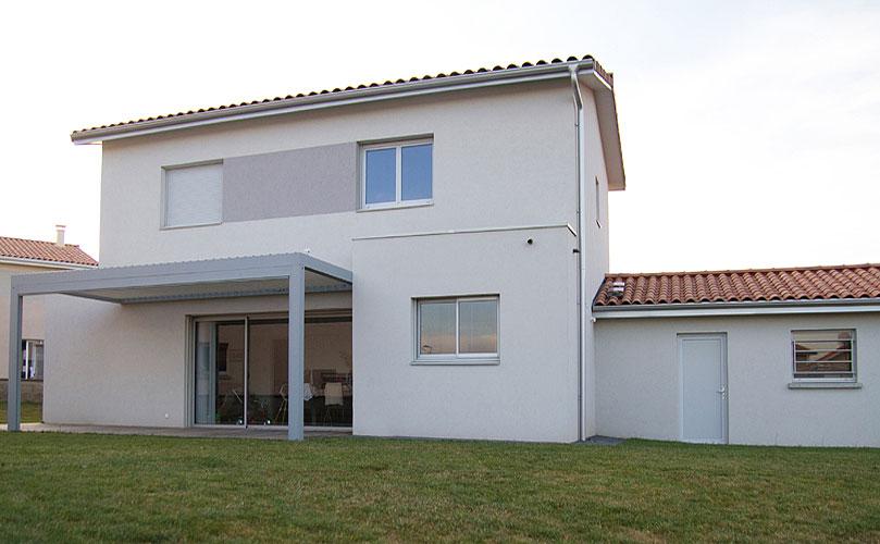 Maison individuelle contemporaine Chasse-sur-Rhône