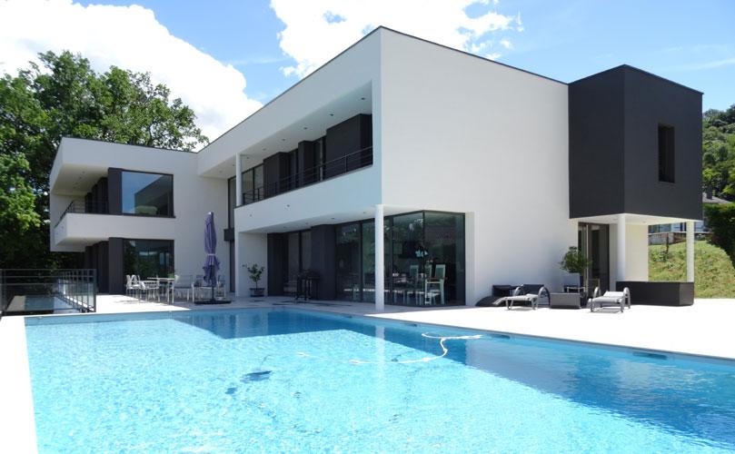 Maison individuelle contemporaine Bourgoin-Jallieu