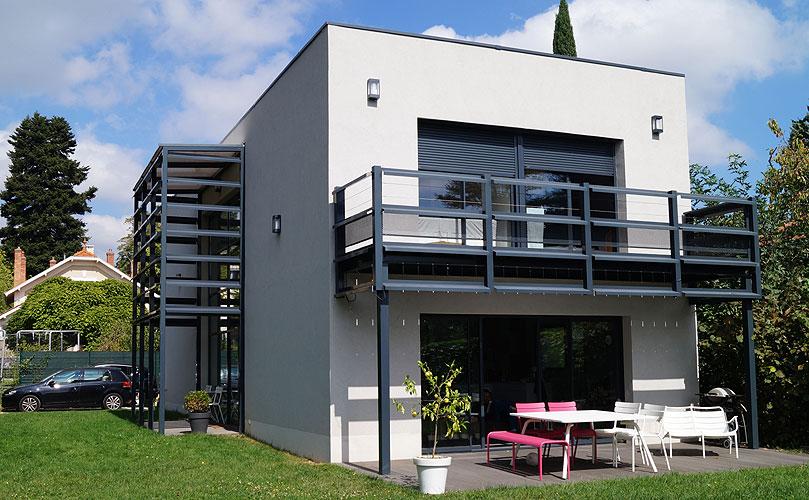 Maison individuelle contemporaine Tassin la Demi-Lune