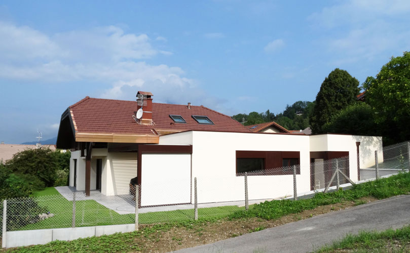 Maison individuelle contemporaine Thyez