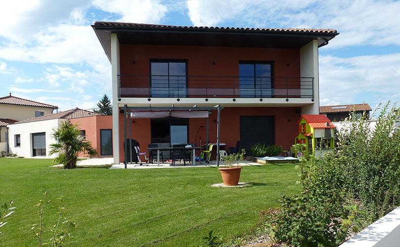 Maison individuelle contemporaine Vourles