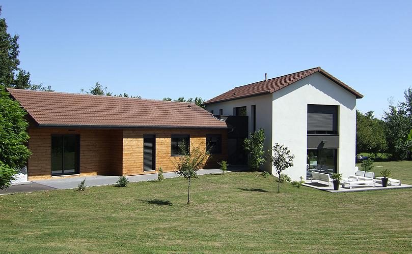 S bastien viret architecte dplg for Extension maison lotissement