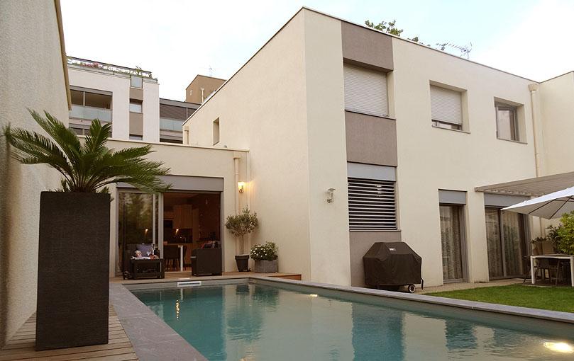 Maison individuelle contemporaine Lyon