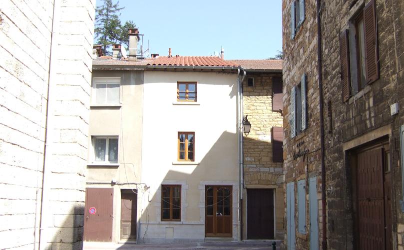 Maison individuelle contemporaine Chasselay
