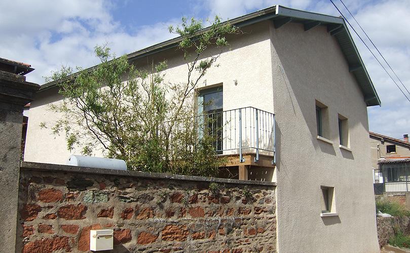 Maison individuelle rehabilitation Thurins